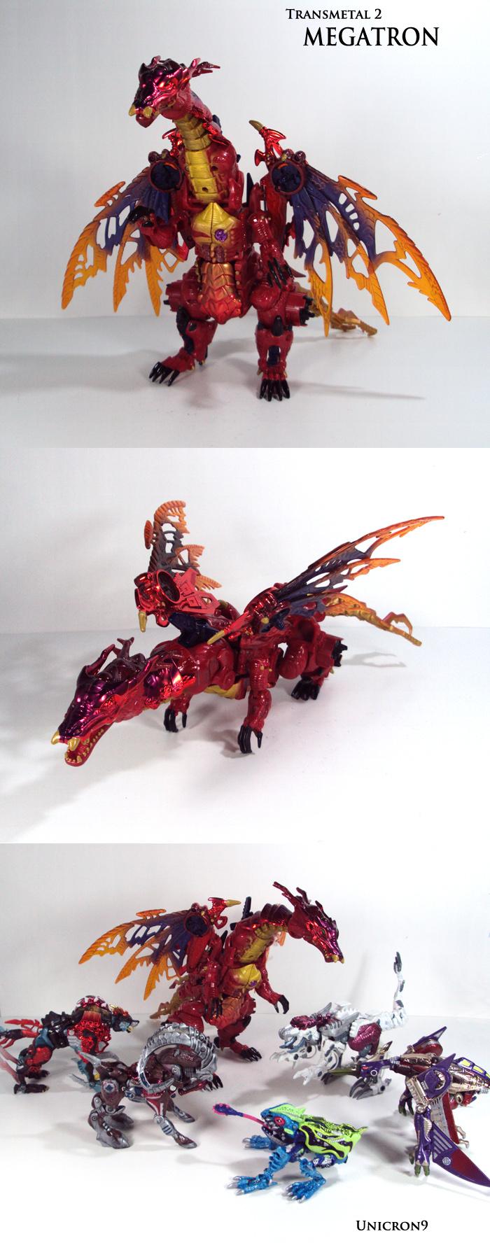Transmetal 2 Megatron by Unicron9