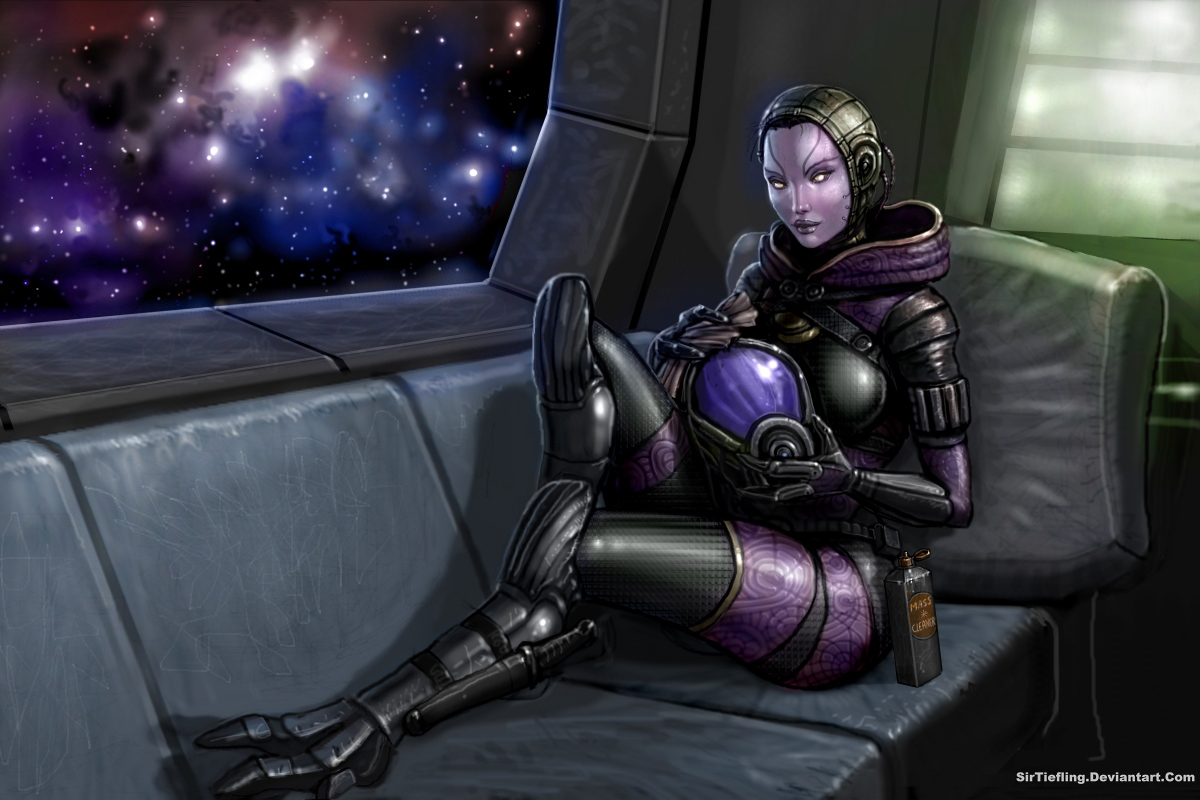 SirTiefling's Tali (my edit) by Unicron9