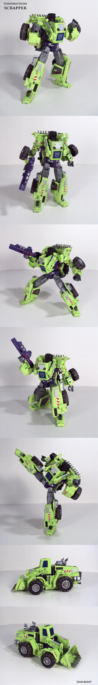 Constructicon: Scrapper by Unicron9