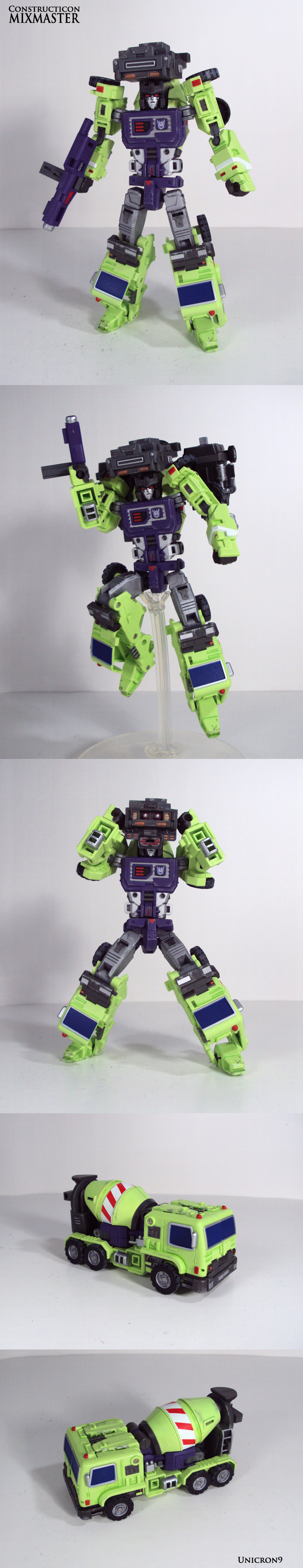 Constructicon: Mixmaster by Unicron9