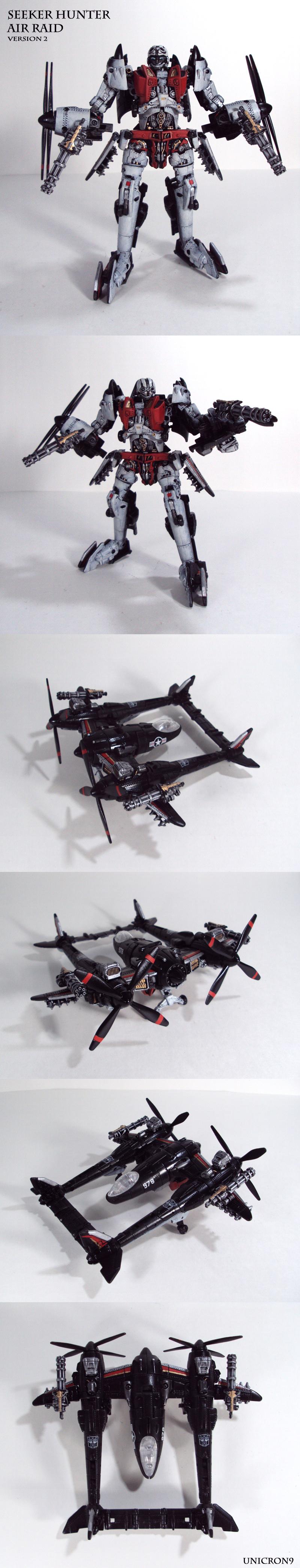 Seeker Hunter Air Raid V2 by Unicron9
