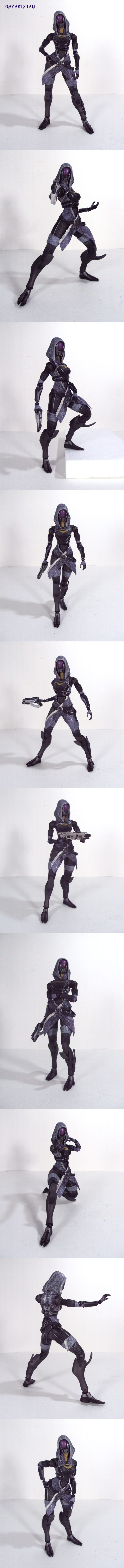 Play Arts Tali by Unicron9