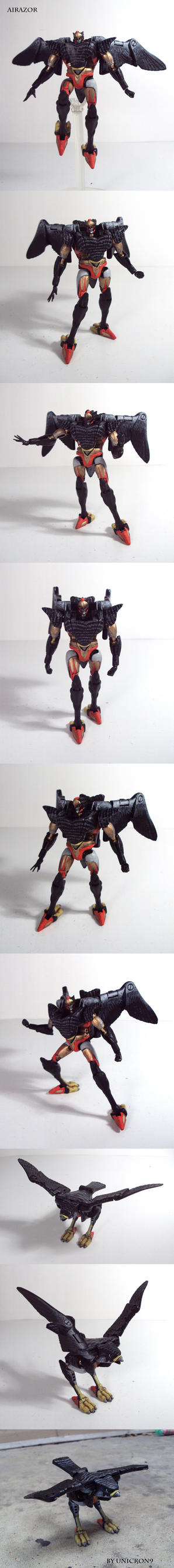 Beast Wars Airazor Custom Figure by Unicron9