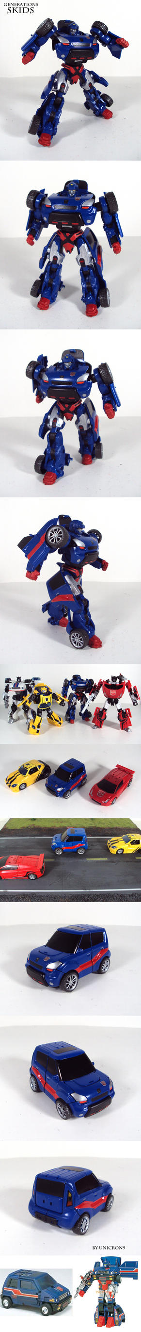 Transformers Generations Skids by Unicron9