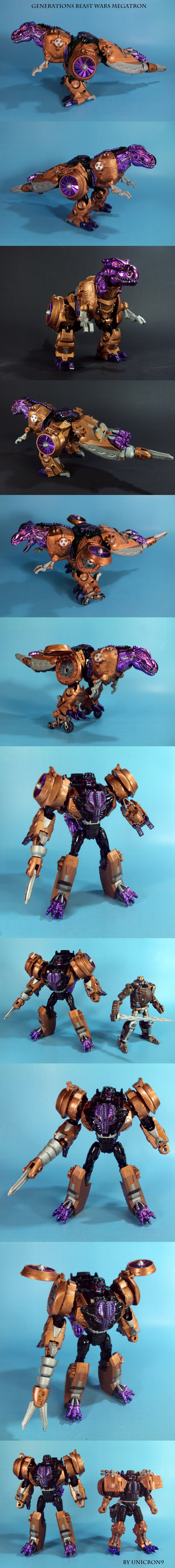 Generations Beast Wars Megatron by Unicron9
