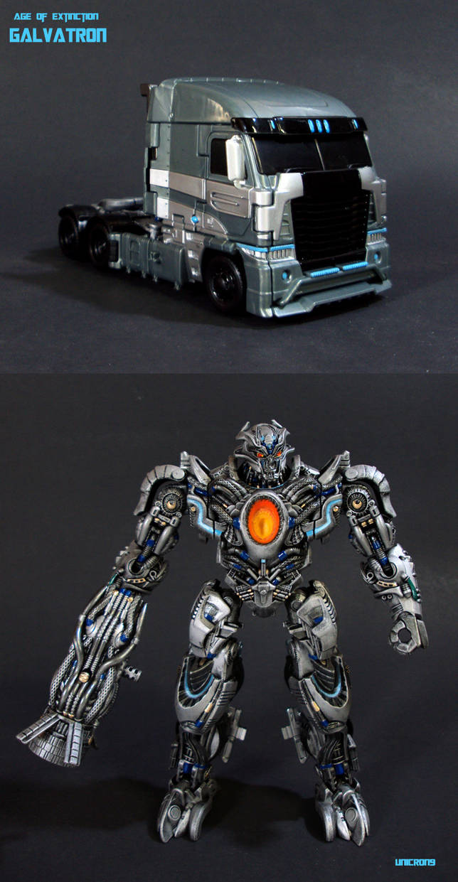 Transformers Age Of Extinction Galvatron Truck