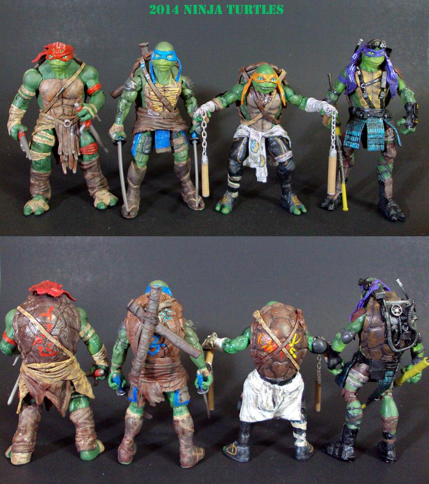 2014 Ninja Turtles by Unicron9
