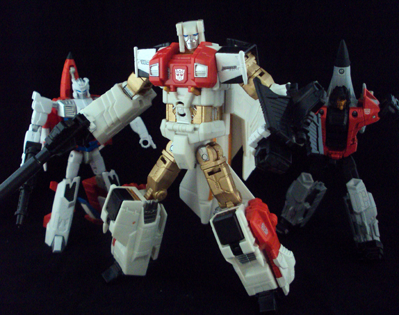 First 3 Aerialbots by Unicron9