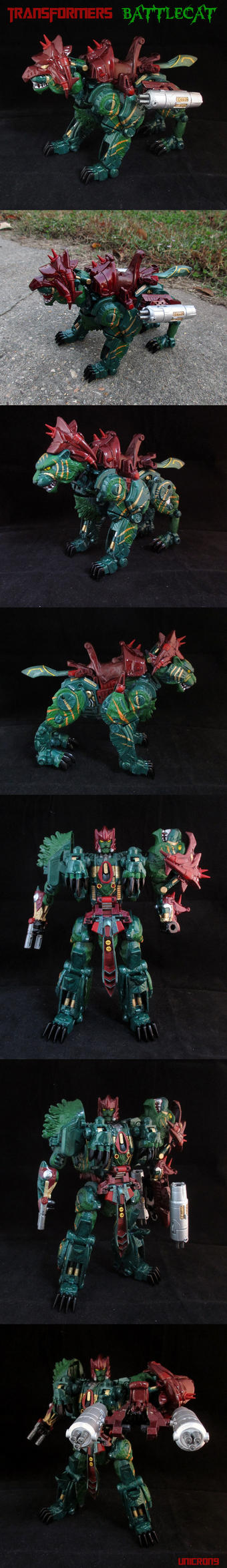 Transformers/MOTU Crossover Battlecat by Unicron9