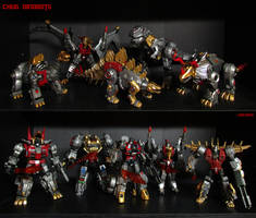 The Dinobots by Unicron9