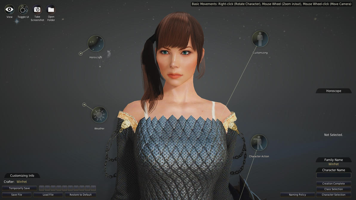Black desert character creator jessica biel by unicron9 on for 3d creator online