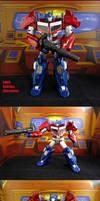 Custom CHUG Optimus Prime 2016