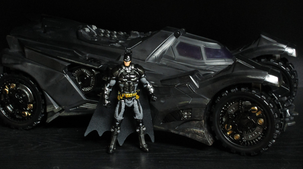 Arkham Knight Batmobile and Batman by Unicron9 on DeviantArt