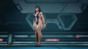 Chun Li Inappropriately Dressed by Unicron9