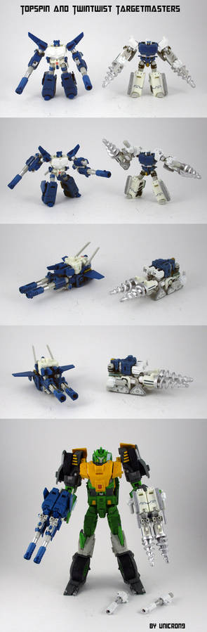 Topspin and Twintwist Targetmasters