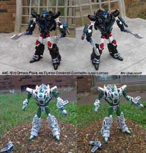Convention Custom Class Primal and Tigatron