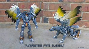 Transformers Prime Silverbolt by Unicron9