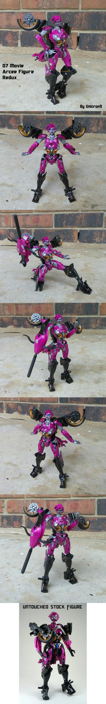 07 Arcee Movie Figure Redux by Unicron9
