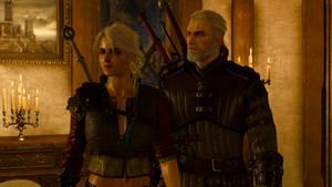Witcher 3 Ciri and Geralt