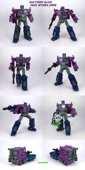 Shattered Glass Siege Optimus Prime