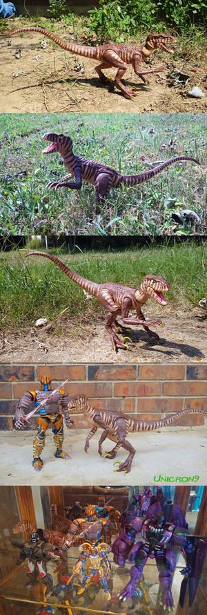 Beast Wars Dinobot Articulated Raptor Figure
