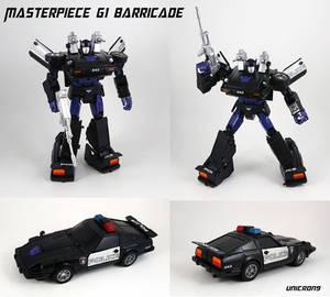 Masterpiece G1 Barricade