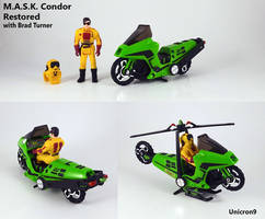 M.A.S.K. Condor Toy Restored