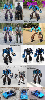 Arthur Morgatron (RDR2/Transformers crossover)
