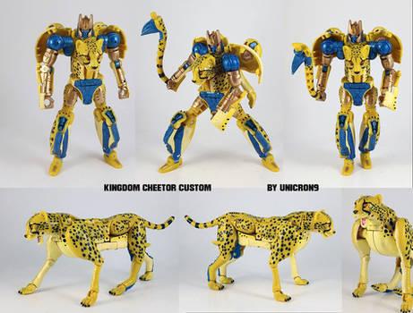 Kingdom Cheetor Custom