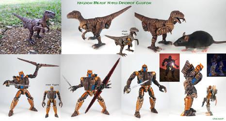 Kingdom Beast Wars Dinobot Custom