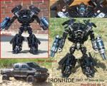 Ironhide 2007 film toy repaint