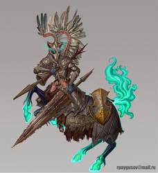 Undead Centaur by RPygusov
