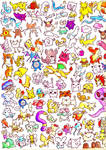 pokemon watercolor