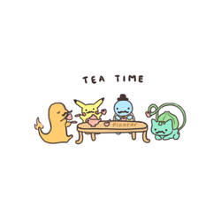 TEA TIMEEE by pikarar