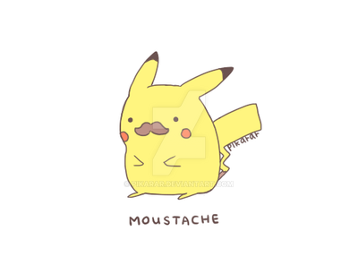 Moustache by pikarar