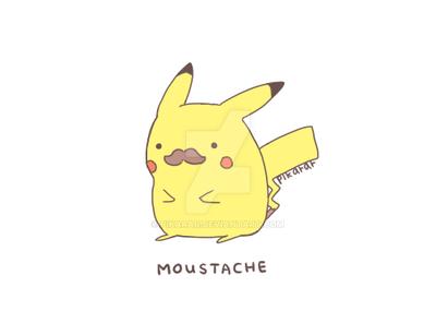 Moustache by pikarar