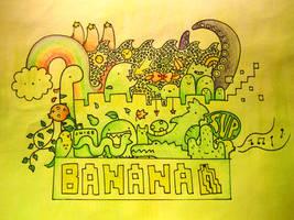 Banana by pikarar