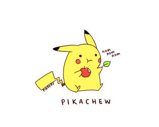 Pikachew by pikarar