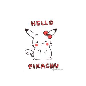 Hello Pikachu by pikarar