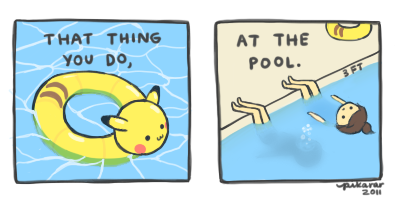Pools by pikarar