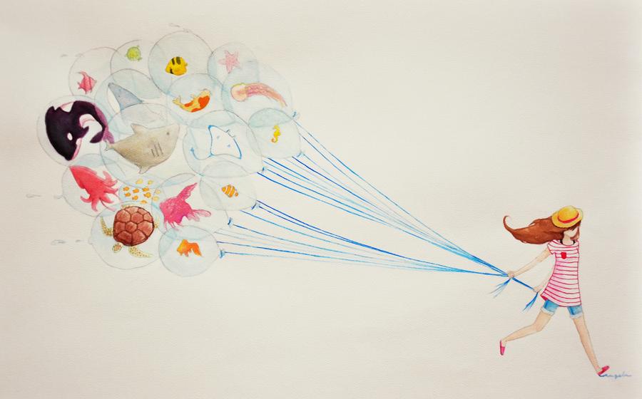 Waterballoons by pikarar