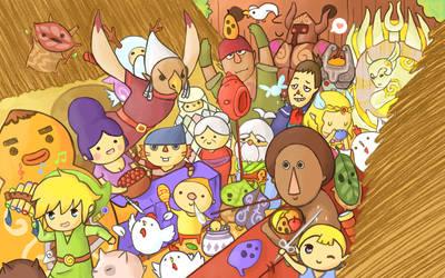 Zelda Festival by pikarar