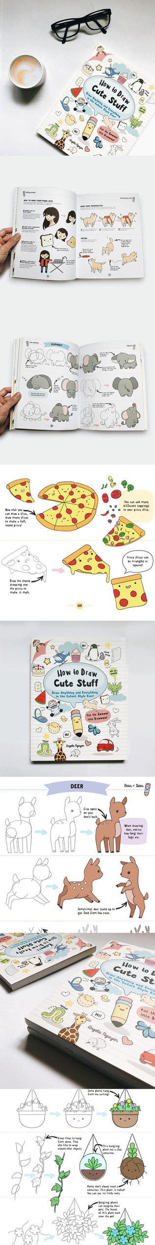 How to Draw Cute Things: Published! by pikarar