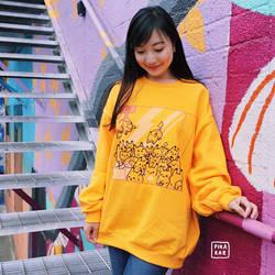 Pikachu Crane Machine Sweater