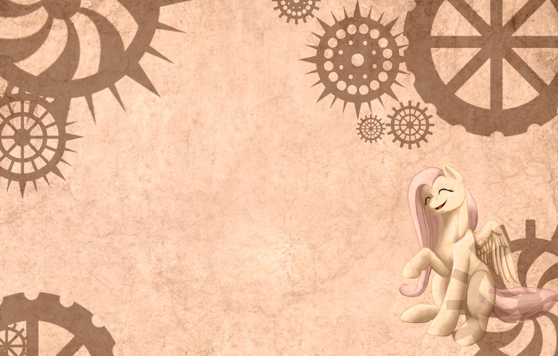 Steampunk Ghost - free background by Chickenwhite