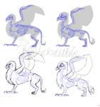 Griffon anatomy - 'realistic' vs MLP by Chickenwhite