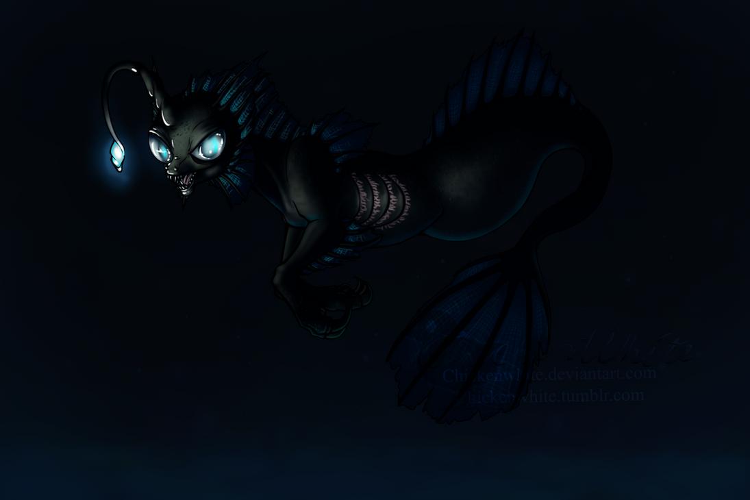 Deep sea pony by Chickenwhite