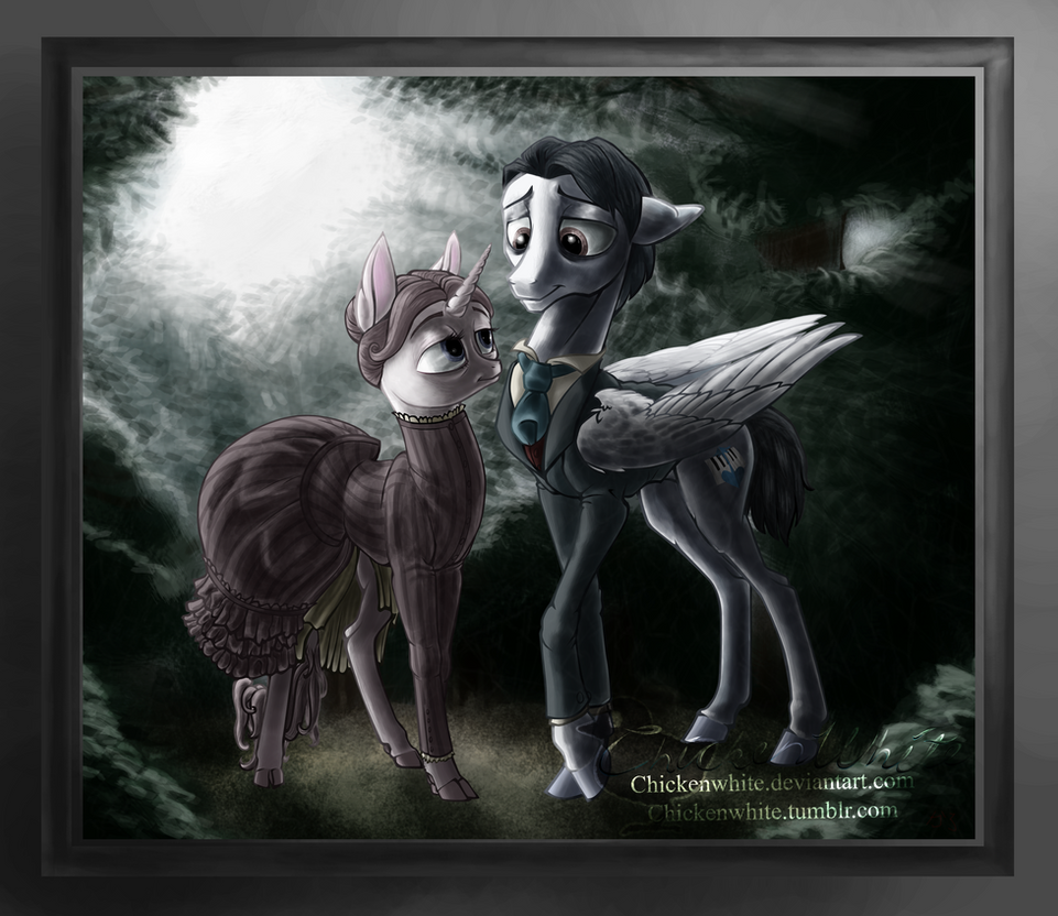 Corpse ponies by Chickenwhite