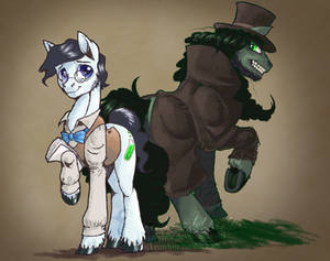 Dr. Jekyll and Mr. Hyde ponies