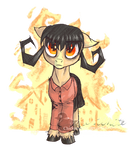 Don't Starve Ponies - Willow